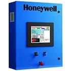 Painel de eficiencia de combustão Honeywell